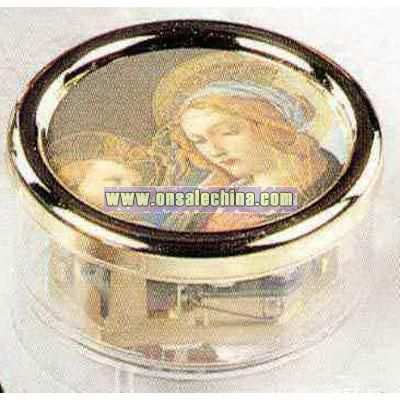 Assorted Madonna Pictures - Music box