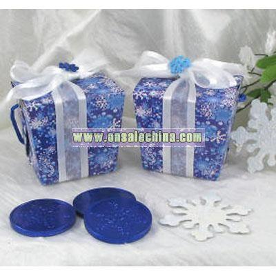 Snowflake Takeout Boxes