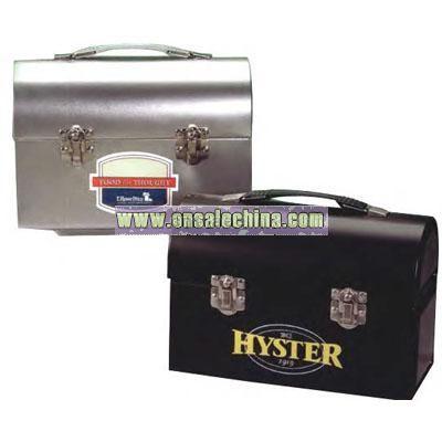 Workman Silver Stock nostalgic lunch box