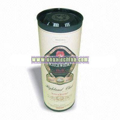 Whisky Wine Tube Box