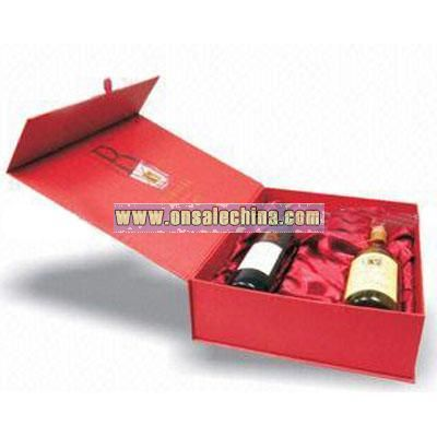 Special Paper Wine Box