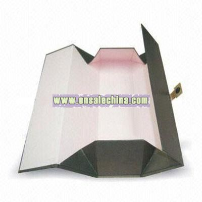 Foldable Wine Box