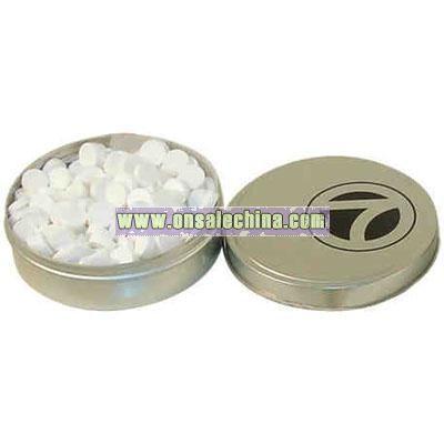 Silver tin mints