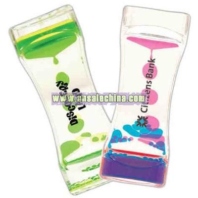 Colorful liquid timer