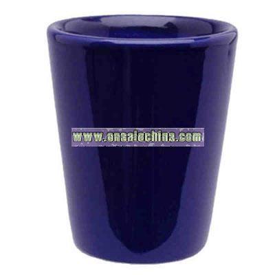 Ceramic 1.5 oz. shot glass