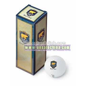 Gold PackEdge(TM) 3-Ball Custom Pack