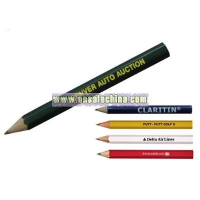 Hexagon Golf Pencil