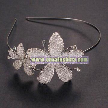 Beads Flower Headband