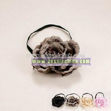 Elastic Flower Hairband