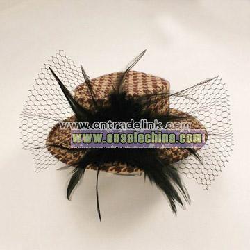Hat Hair Decoration