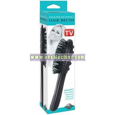 Pipedreams Vibrating Hair Brush Boxed