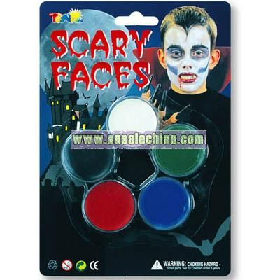 Scary Face Paint