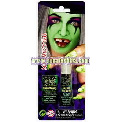 Halloween Makeup Cream Glow in the Dark