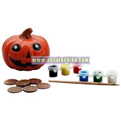 DIY Painting Pumpkin Toy