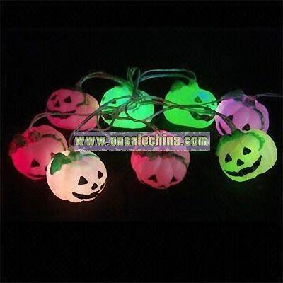 USB Halloween Pumpkin Light String