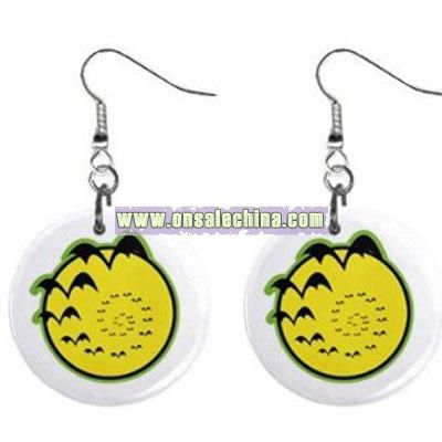 Halloween Bats Earrings