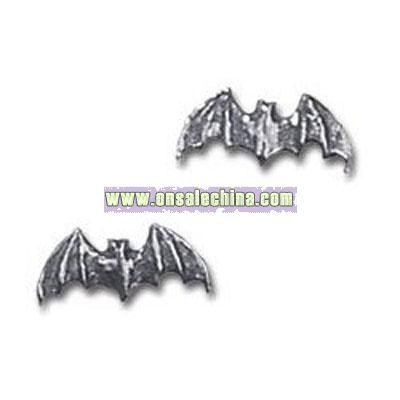 Bat studs (pair) Alchemy Gothic Earrings