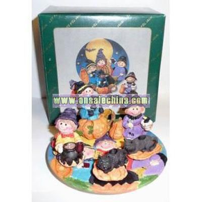 Halloween Decorative Mini Tea Set