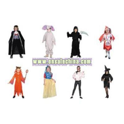 Child Halloween Costume Assortment