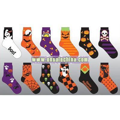 Kid's Halloween Socks