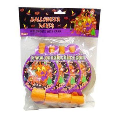 Halloween Blowouts