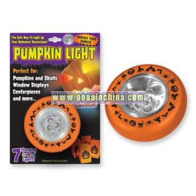 Tap Light - Halloween - Pumpkin Light