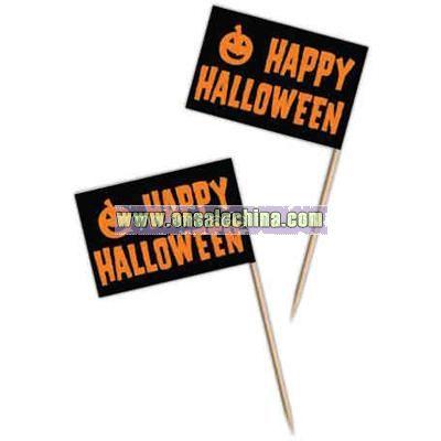 Halloween flag picks