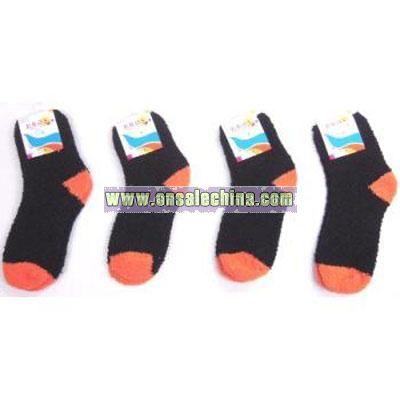 Fuzzy Ankle Halloween Socks