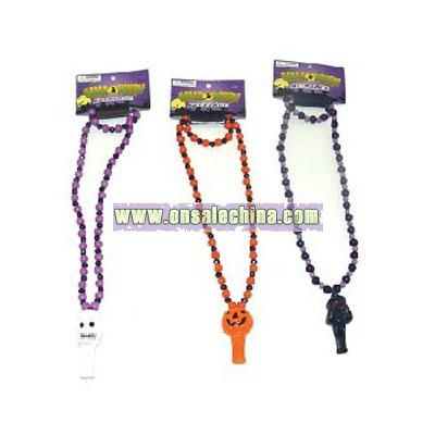 Halloween Necklace Whistles