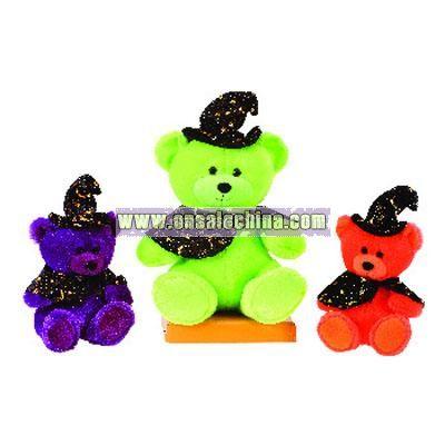 Color Sitting Halloween Bears