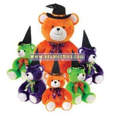 Assorted Color Hi-Mink Sitting Bears
