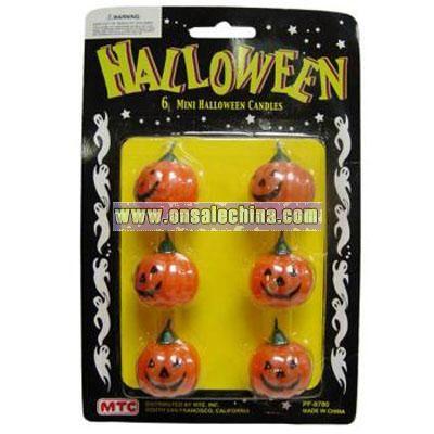 Mini Halloween Candles