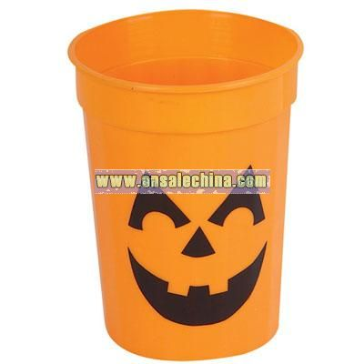 Plastic Jack-Lantern Cup