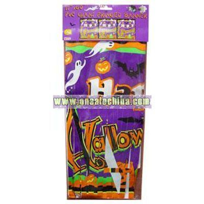 Halloween Fringe Banner