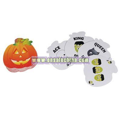 Halloween Playing Card