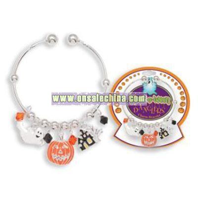 Halloween Dangler Charm Bracelets