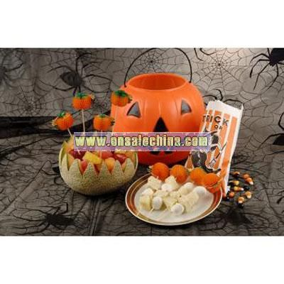 Pumpkin Party Picks Counter