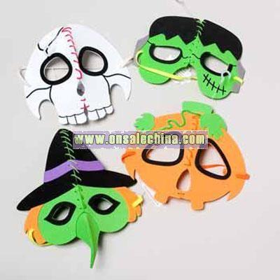 Halloween Half Masks