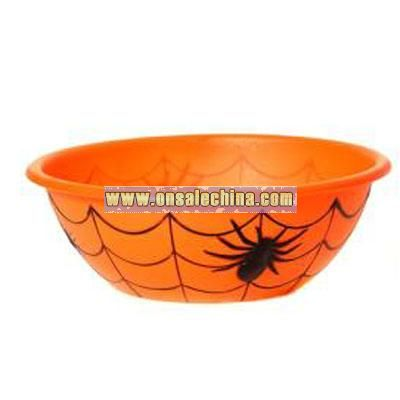 Plastic Halloween Candy Bowl