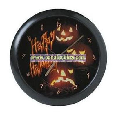 Halloween Clock with Scary Sounds