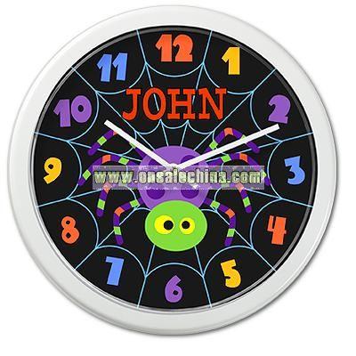 Halloween Personalized Clock