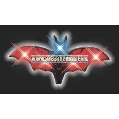Blank vampire bat flashing pin