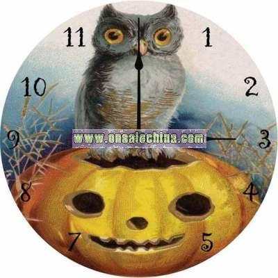 Halloween Midnight Hours Clock