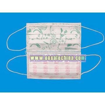 Non-Woven Mask with Design