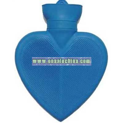 1000ml Heart Shaped Rubber Hot Water Bag