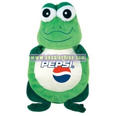 Plush Frog Shaped Hot Water Bag