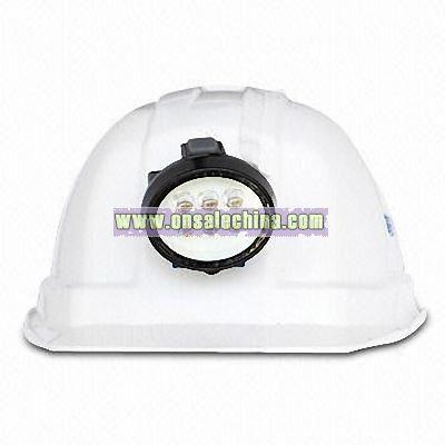 LED Miner's Lamp Safety Helmet