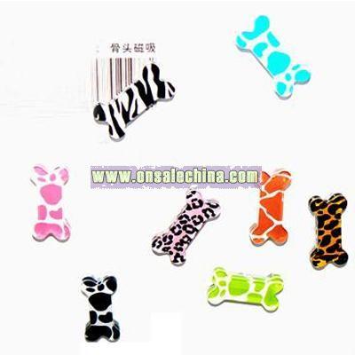 Pet Bone Bite Fridge Magnets, Memo Holder, home accessories