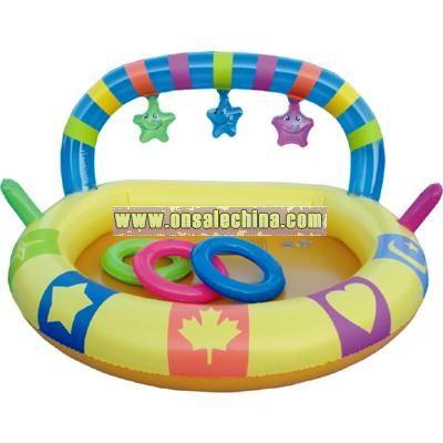 Inflatable Rainbow Kid Pool