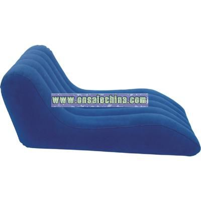 Inflatable Flocked Lounge